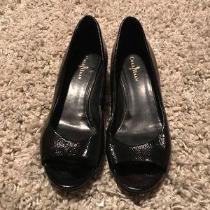 ColeHaan Peep Toe Women's Shoes Size 6B